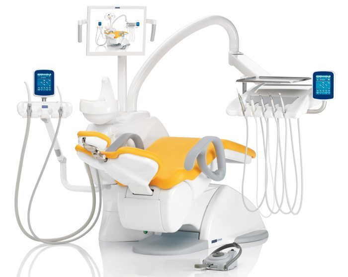 Riunito per dentista V8 Touch - Vitali Dental Chair