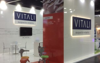 VITALI ESTRO stools at IDS 2017 (Cologne)