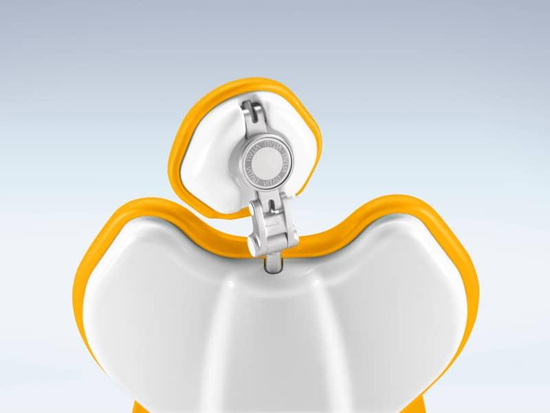 appoggiatesta riunito odontoiatrico